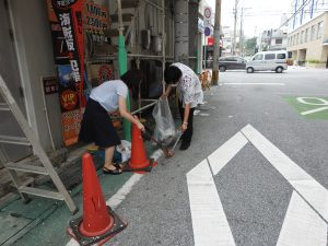 【病院】地域清掃ボランティア活動