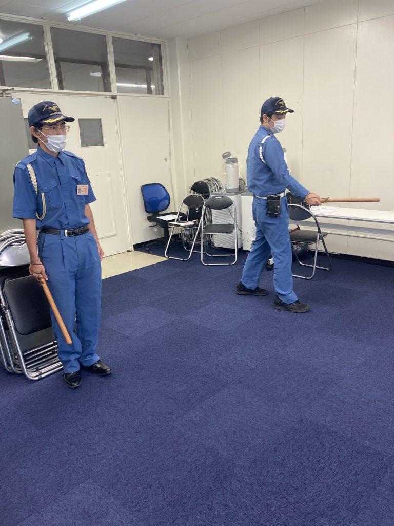 【警備】護身用具(特殊警戒棒)に係る教育及び訓練